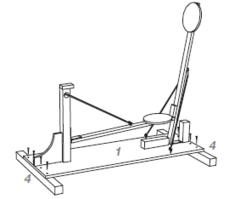 Wurfmaschine für Süssigkeiten Schaumkusswurfmaschine