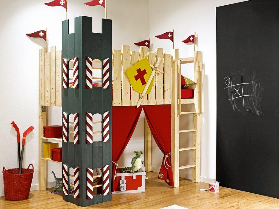 toom kreativwerkstatt hochbett kunibert. Black Bedroom Furniture Sets. Home Design Ideas