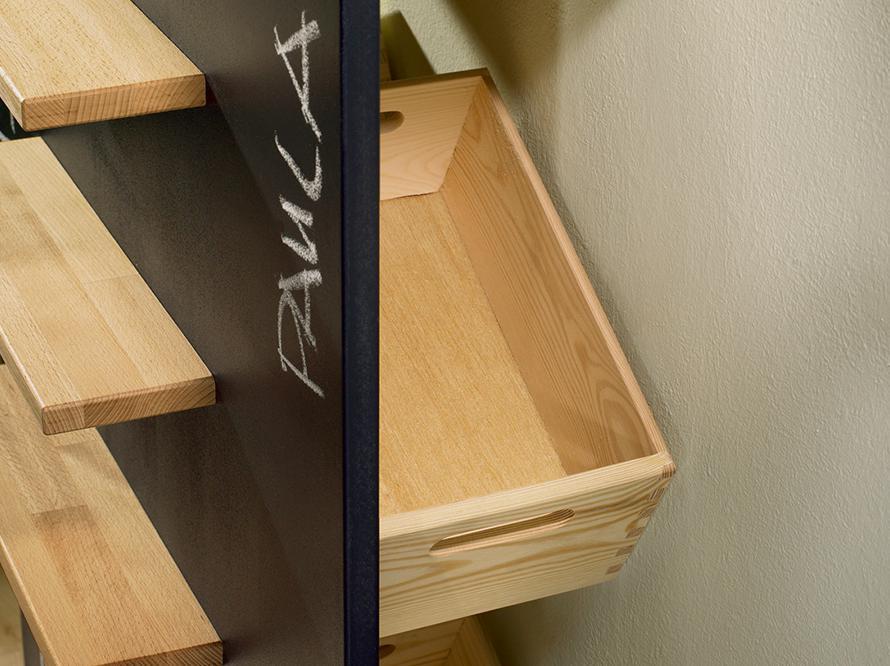 toom kreativwerkstatt flurregal multitalent. Black Bedroom Furniture Sets. Home Design Ideas