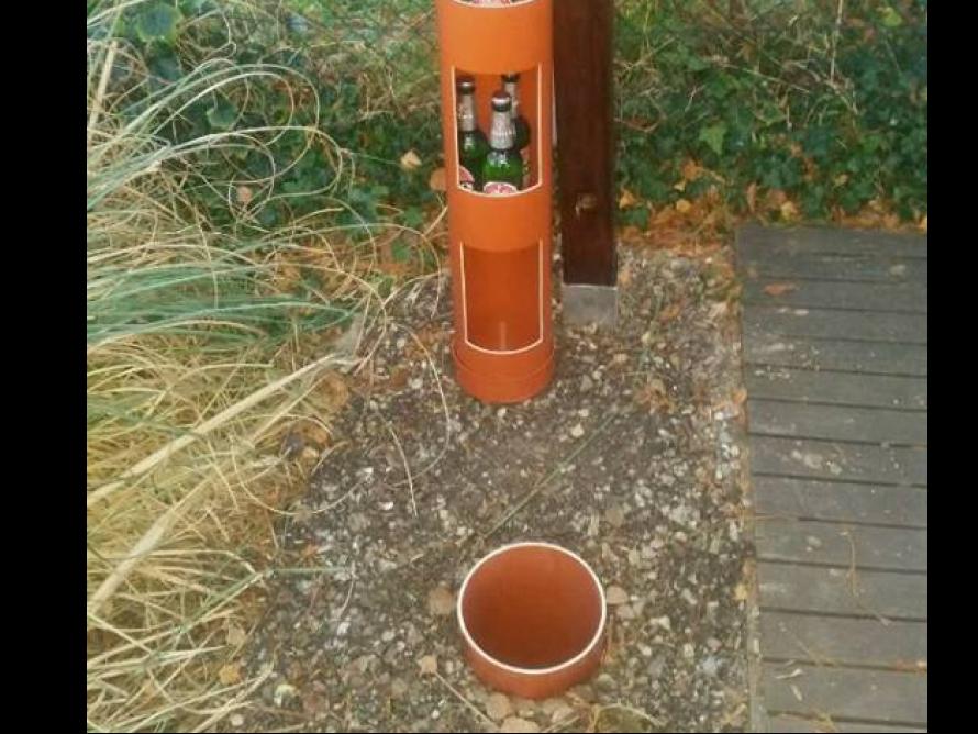 Bierkühler Garten Elektrisch - Hopfenhohle Erdloch