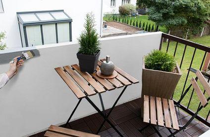 Gut gemocht Balkon streichen | toom Baumarkt OO92
