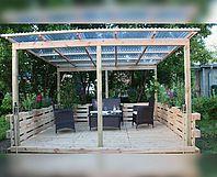 toom Kreativwerkstatt - Terrasse aus Europaletten selber bauen