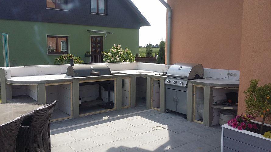 Outdoor Küche Aus Porenbeton : Toom kreativwerkstatt outdoor küche