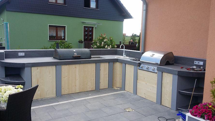 Outdoor Küche Selber Bauen Ytong : Toom kreativwerkstatt outdoor küche