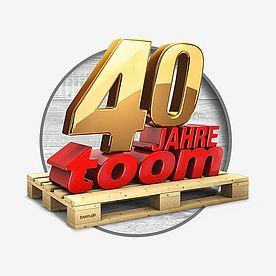 40 Jahre Toom ǀ Toom Baumarkt