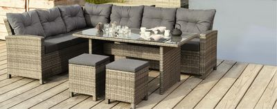 gartenlounge set melina aktion bei toom baumarkt angebot. Black Bedroom Furniture Sets. Home Design Ideas