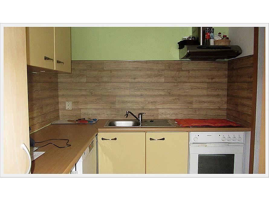toom Kreativwerkstatt - Linoleum Holz Rückwand
