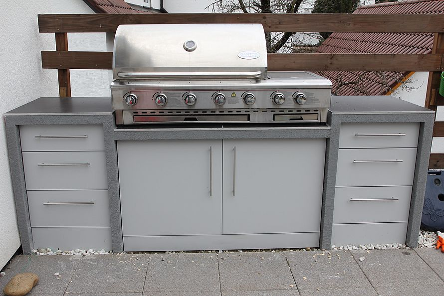 Türen Und Schubladen Für Die Außenküche : Toom kreativwerkstatt außenküche: unterbau für aufsatzgrill