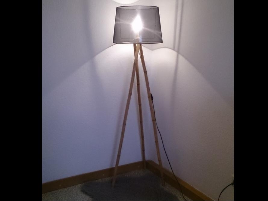 Toom Kreativwerkstatt Stehlampe Bambus
