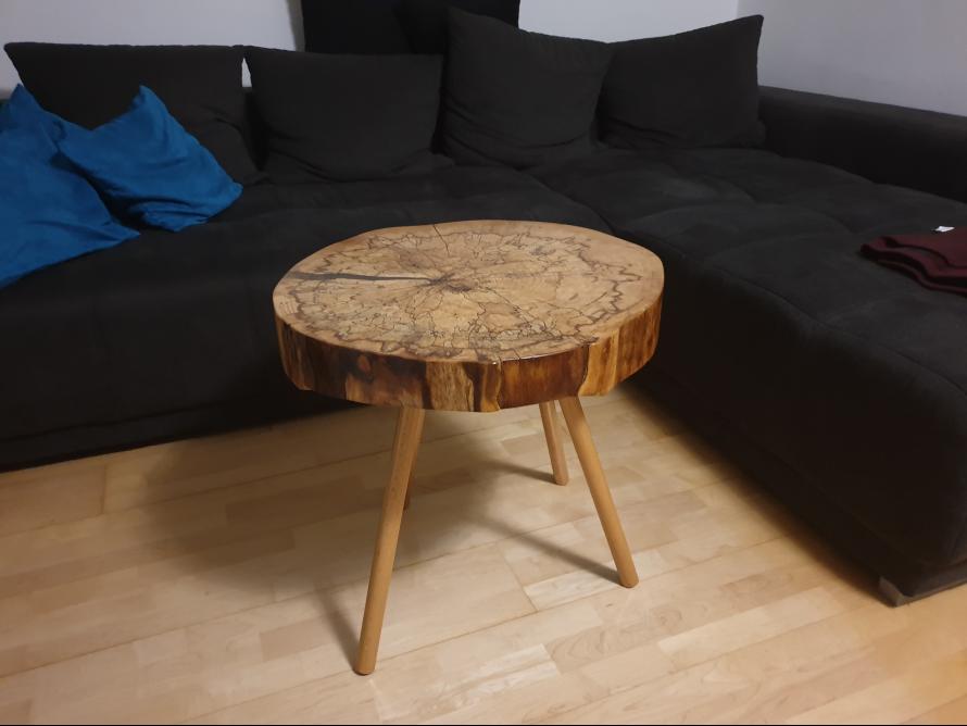 Toom Kreativwerkstatt Baumscheibe Als Tisch