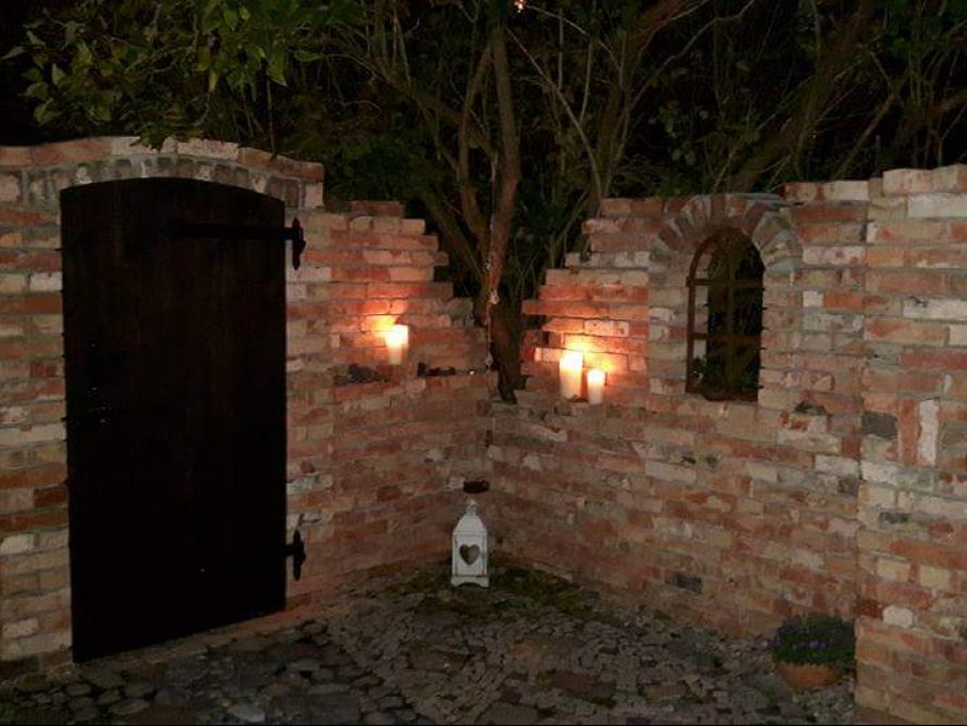 Toom Kreativwerkstatt   Ruinenmauer Im Garten Selbst Gebaut