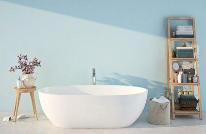 Badezimmer Streichen So Funktioniert S Toom Baumarkt