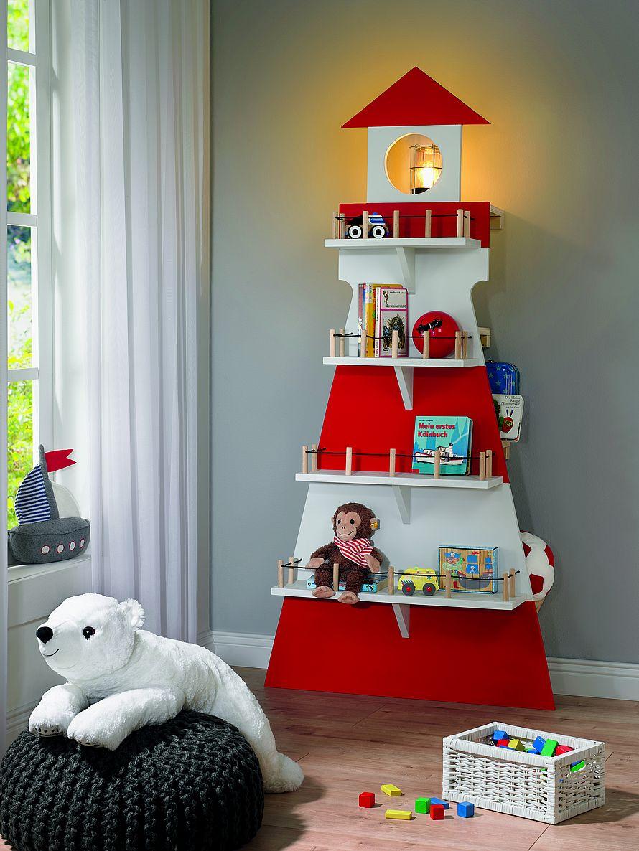 Toom Kreativwerkstatt Kinderregal Leuchtturm