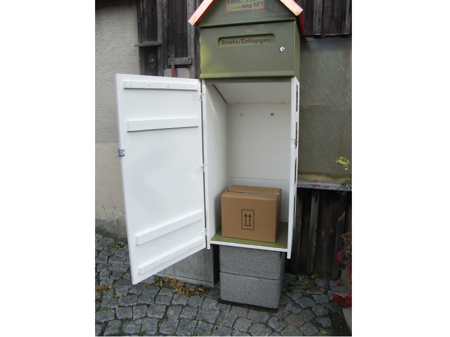 Cool toom Kreativwerkstatt - Briefkasten mit Paketbox ZI54