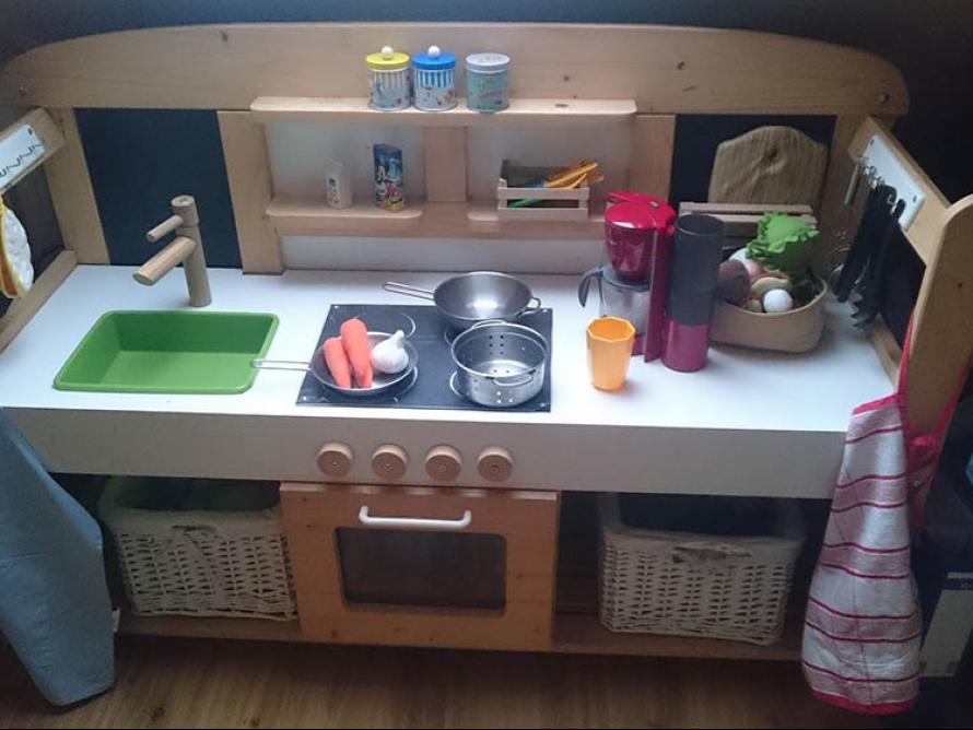 Kinderküche selber bauen toom  toom Kreativwerkstatt - Kinderküche