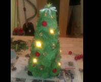 Toom kreativwerkstatt mini weihnachtsbaum for Weihnachtsbaum baumarkt