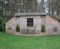 toom kreativwerkstatt gartenmauer als sichtschutz. Black Bedroom Furniture Sets. Home Design Ideas