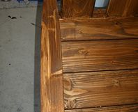 toom kreativwerkstatt gartenbank aus brennholz. Black Bedroom Furniture Sets. Home Design Ideas