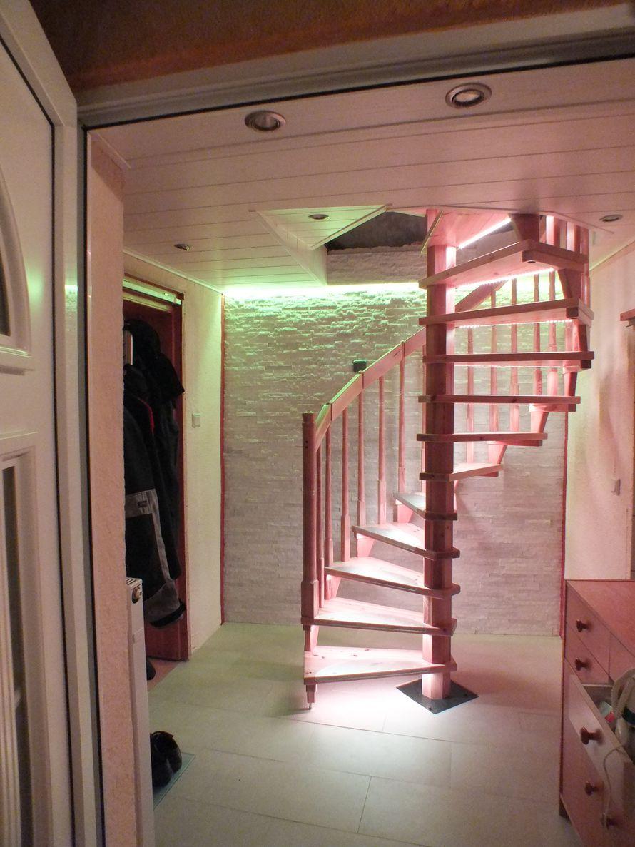 toom kreativwerkstatt led stufenbeleuchtung. Black Bedroom Furniture Sets. Home Design Ideas