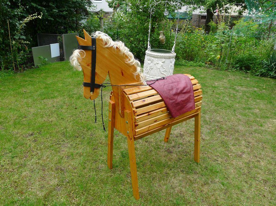 Voltigierpferd Holz Selber Bauen ~ toom Kreativwerkstatt  Voltigierpferd!