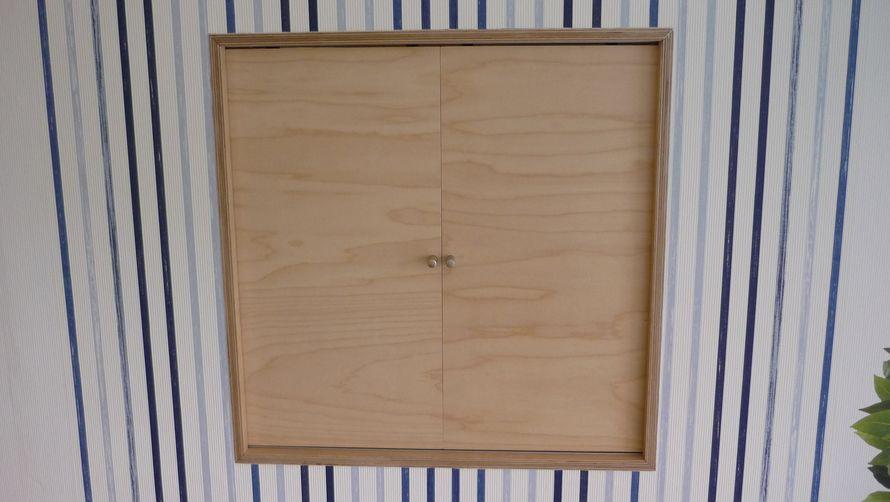 toom kreativwerkstatt durchreiche mit in der wand. Black Bedroom Furniture Sets. Home Design Ideas