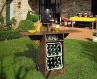 Toom kreativwerkstatt gartenbar oase - Gartenbar selber bauen ...