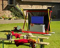 toom kreativwerkstatt tv pavillon heimspiel. Black Bedroom Furniture Sets. Home Design Ideas