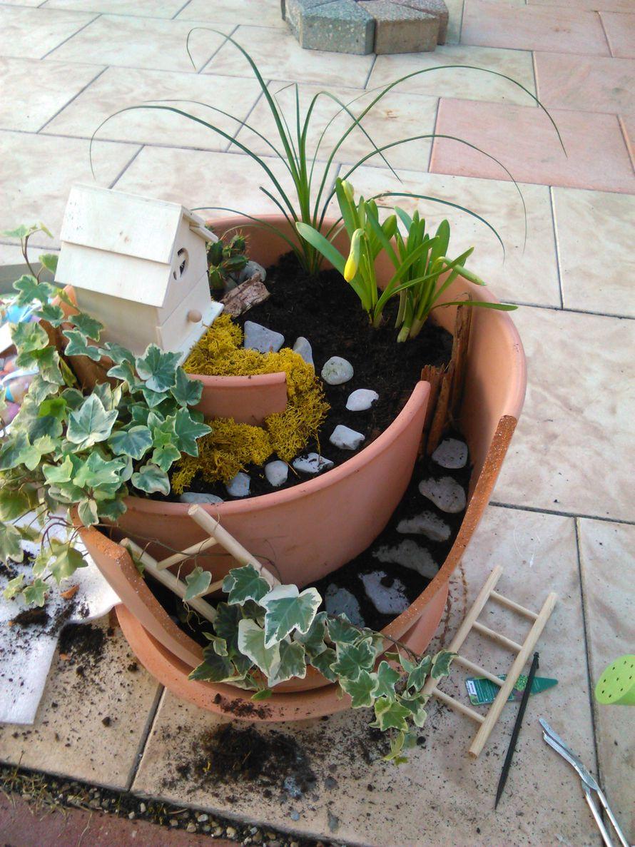 Toom kreativwerkstatt miniaturgarten for Kieselsteine baumarkt