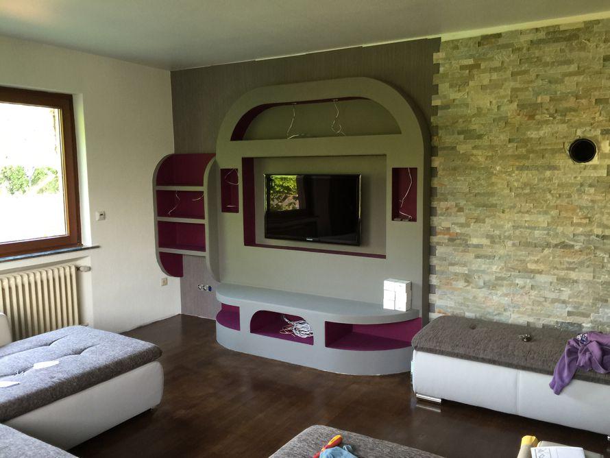 wohnwand aus rigips selber bauen interessante ideen f r die gestaltung eines. Black Bedroom Furniture Sets. Home Design Ideas