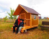 toom kreativwerkstatt gartenhaus f r kinder. Black Bedroom Furniture Sets. Home Design Ideas