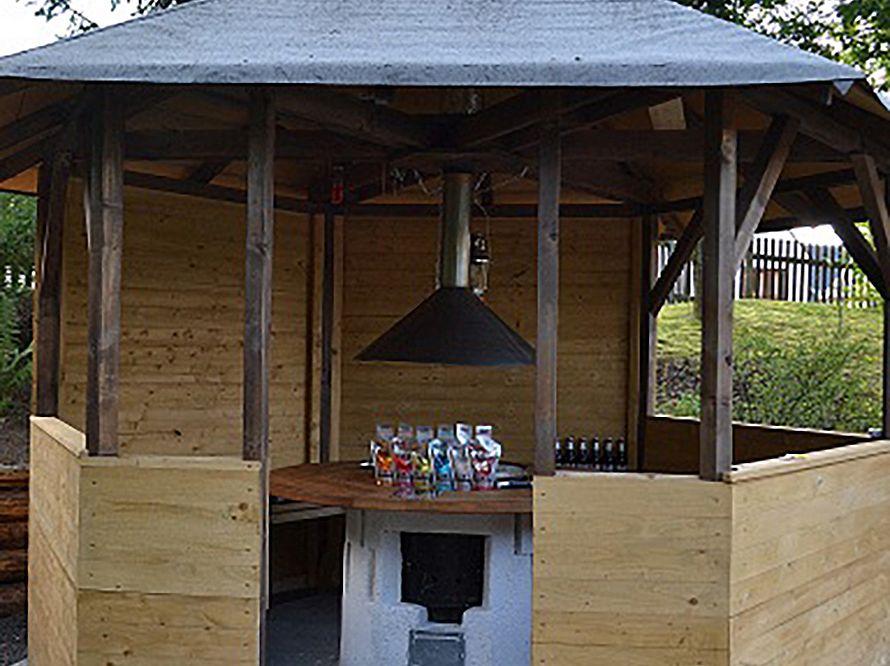 Grillpavillon Selber Bauen toom kreativwerkstatt grillpavillon