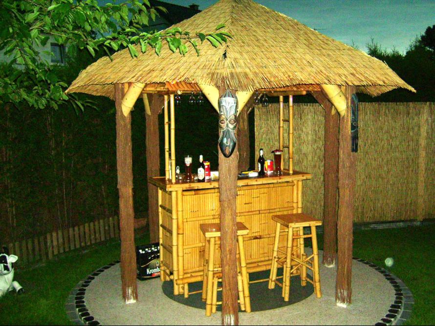 toom kreativwerkstatt - poolbar gebaut, Gartenarbeit ideen