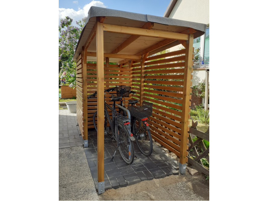 Toom Kreativwerkstatt Bikeport