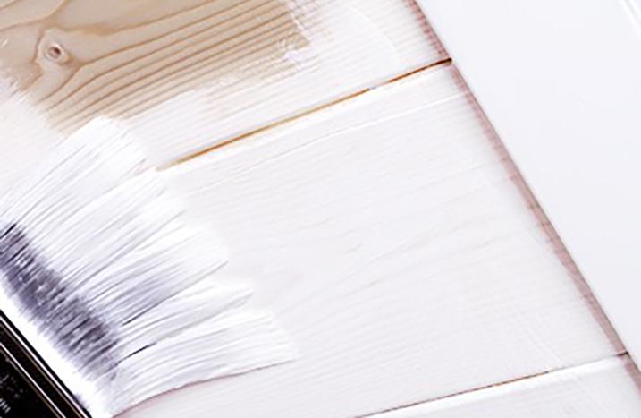 Berühmt Holzdecke weiß lackieren ǀ toom Baumarkt QD82