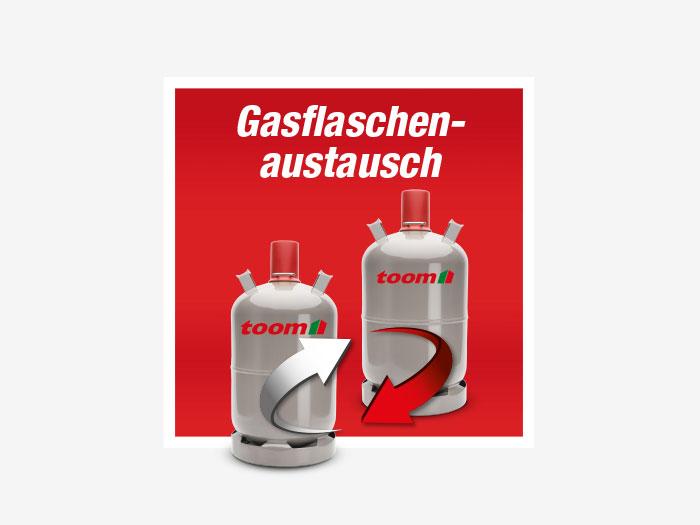 Gasflaschenaustausch ǀ Toom Baumarkt