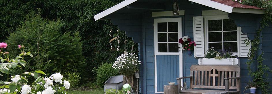 Hilfreiche Tipps Zum Streichen Des Gartenhauses Karibu