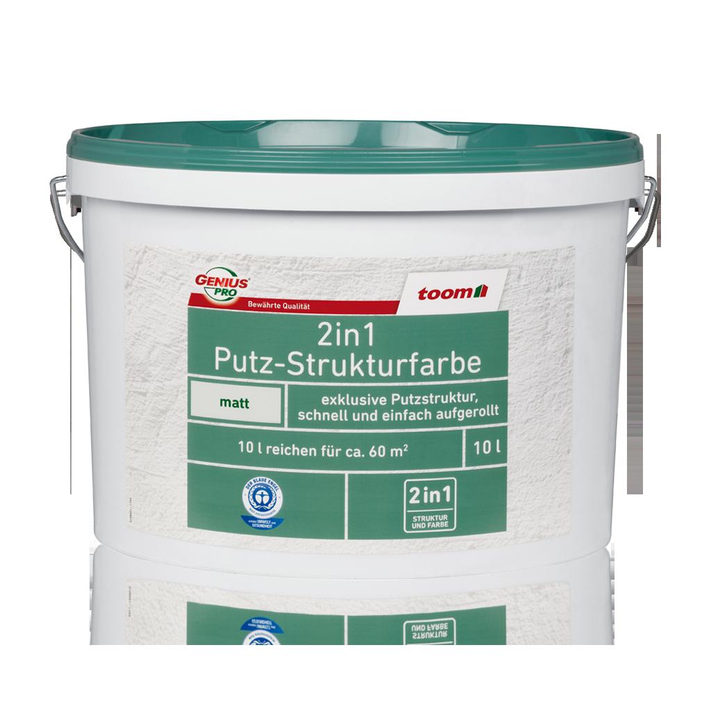 Putz-Strukturfarbe 10L | toom Baumarkt