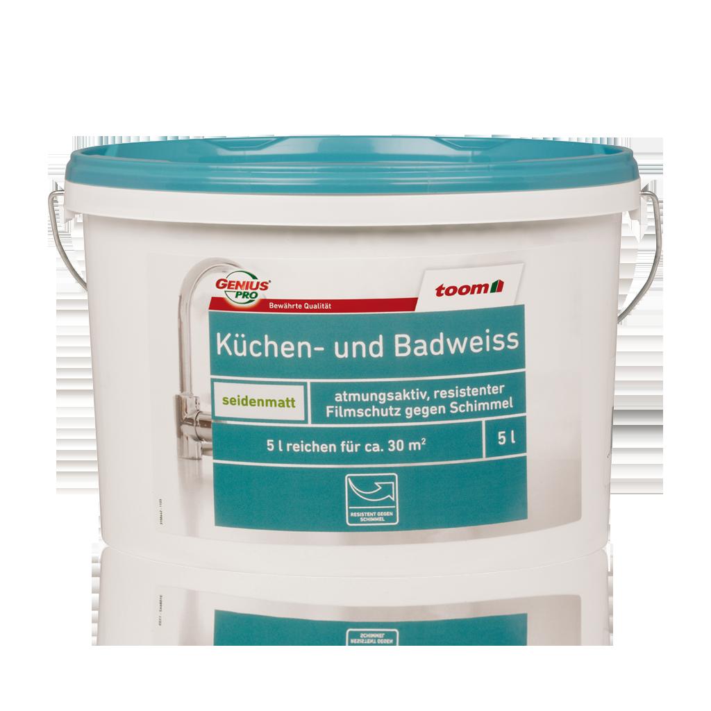 Küchen- und Badweiss 5L | toom Baumarkt