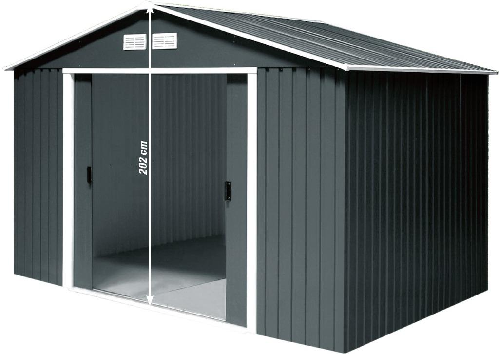 metallger tehaus titan 8 x 6. Black Bedroom Furniture Sets. Home Design Ideas