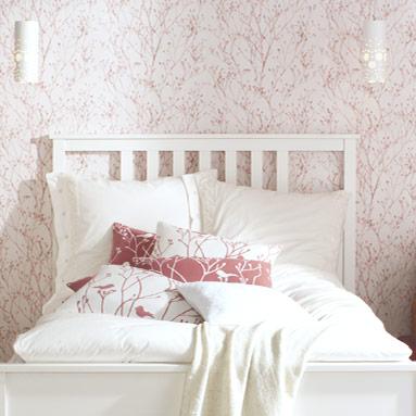 rosarot papiertapete toom baumarkt. Black Bedroom Furniture Sets. Home Design Ideas