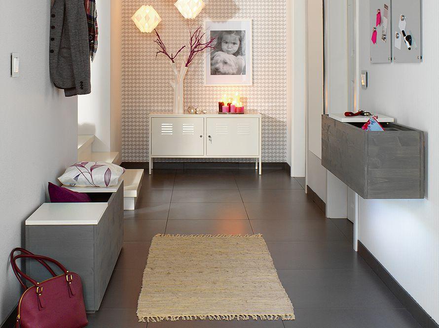 toom kreativwerkstatt wandboard und bank. Black Bedroom Furniture Sets. Home Design Ideas