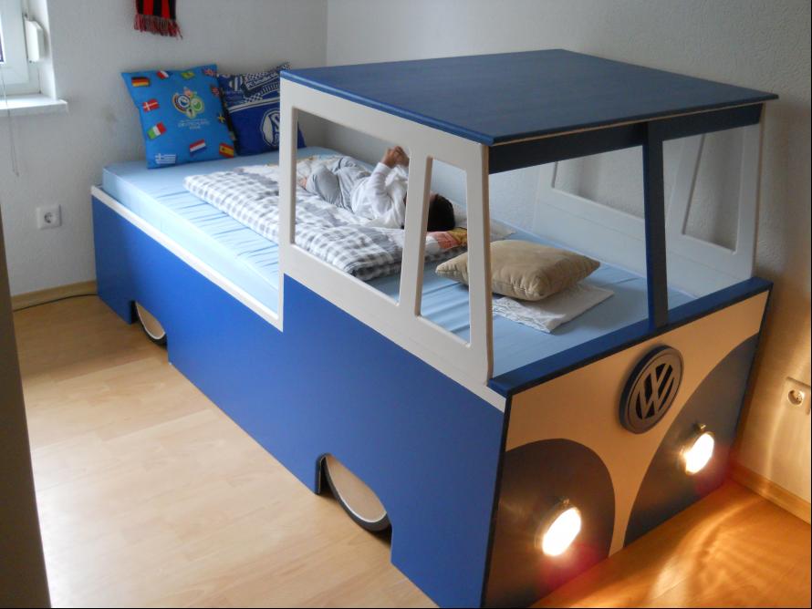 toom Kreativwerkstatt - VW Bulli Kinderbett