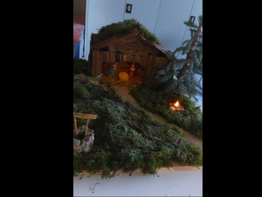 toom Kreativwerkstatt - Weihnachtskrippe