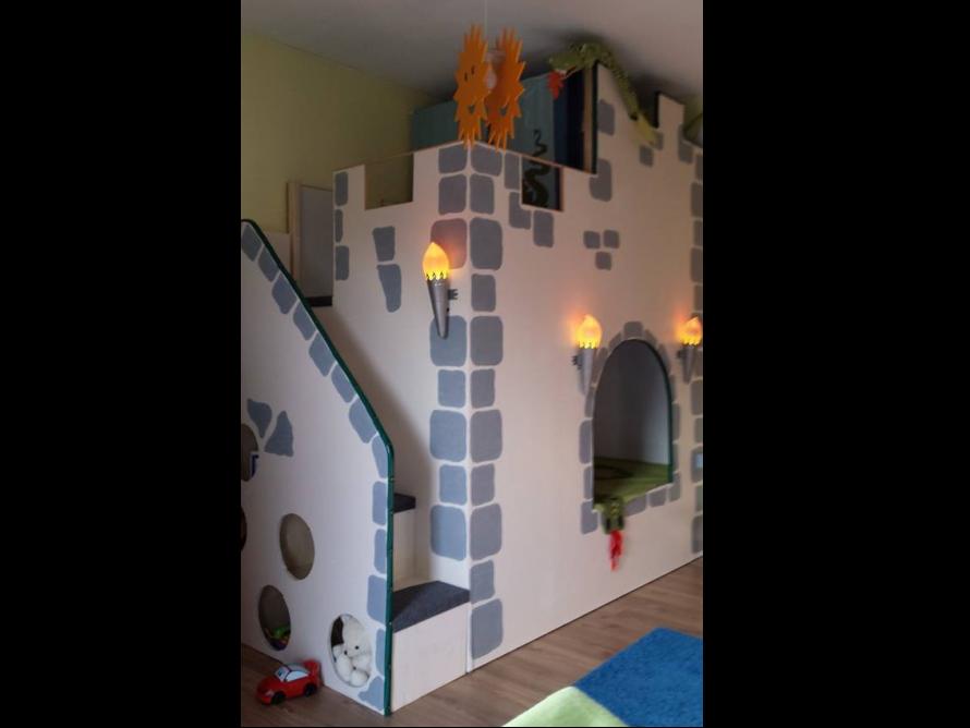 Kinderzimmer Gestalten Ritterburg | Bibkunstschuur