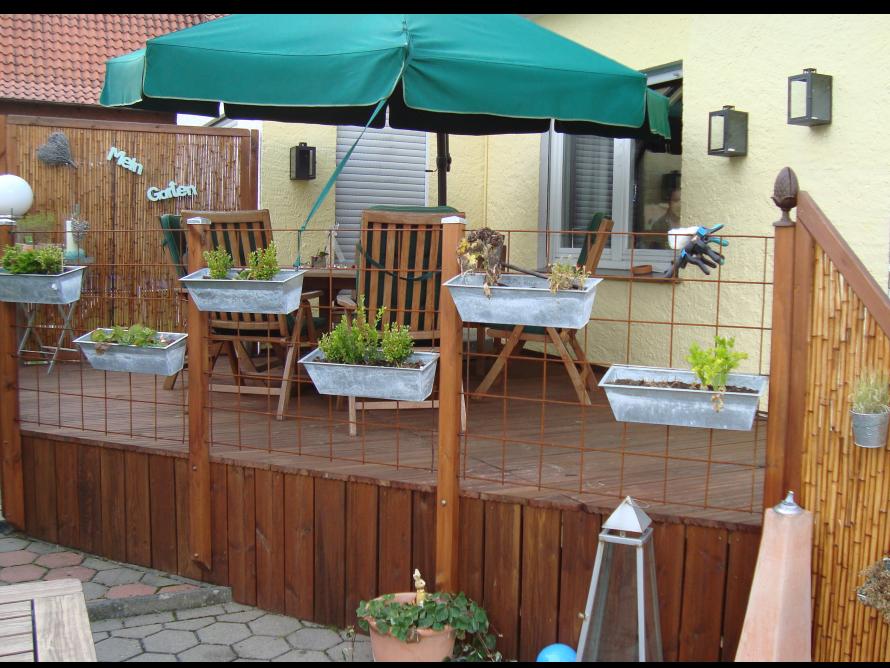 toom kreativwerkstatt terrasse. Black Bedroom Furniture Sets. Home Design Ideas