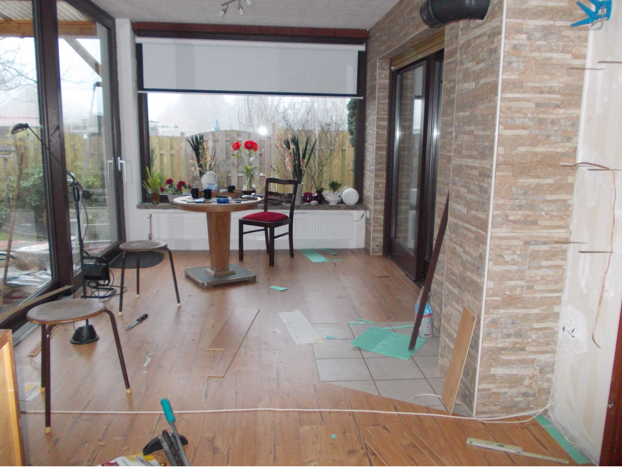 toom kreativwerkstatt sommergarten wird wintergarten. Black Bedroom Furniture Sets. Home Design Ideas
