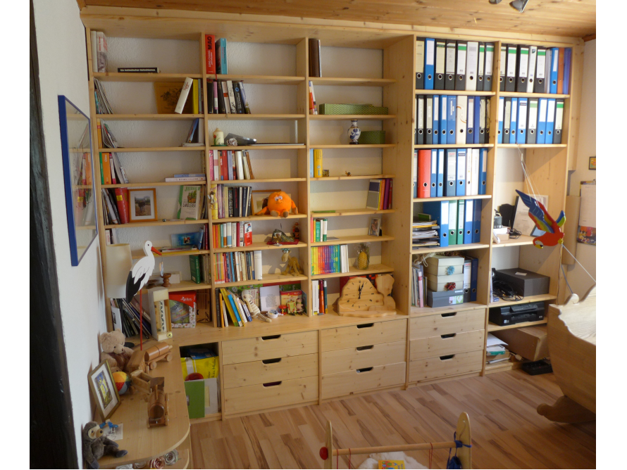 toom kreativwerkstatt b roregal. Black Bedroom Furniture Sets. Home Design Ideas