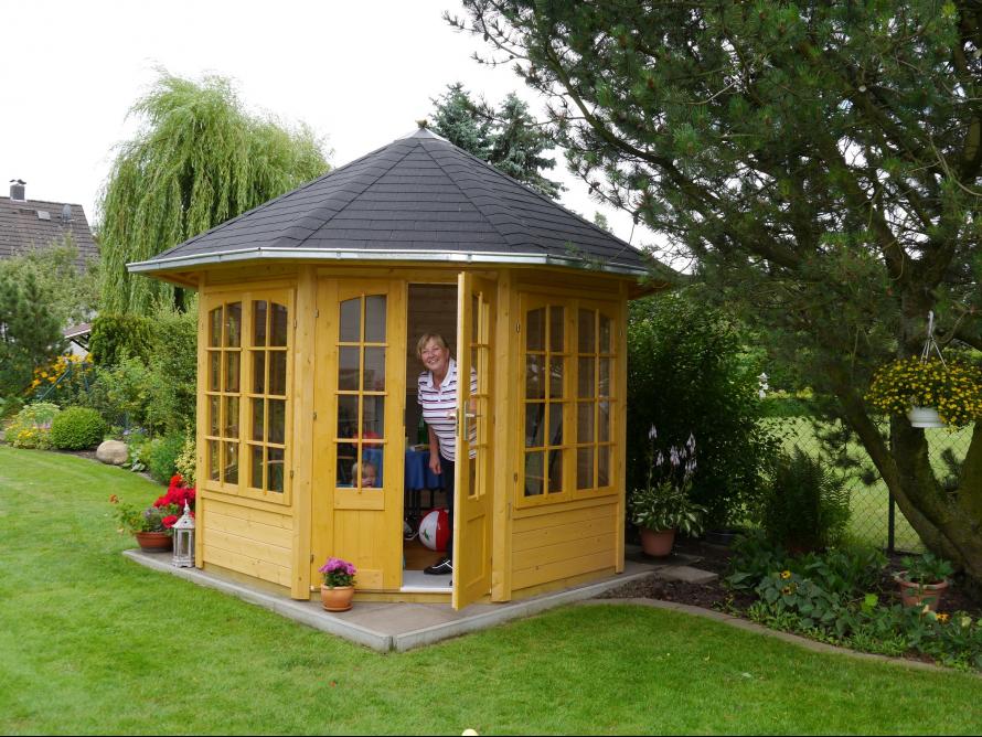 Gartenpavillon Holz Baumarkt ~ toom Kreativwerkstatt  Gartenpavillon