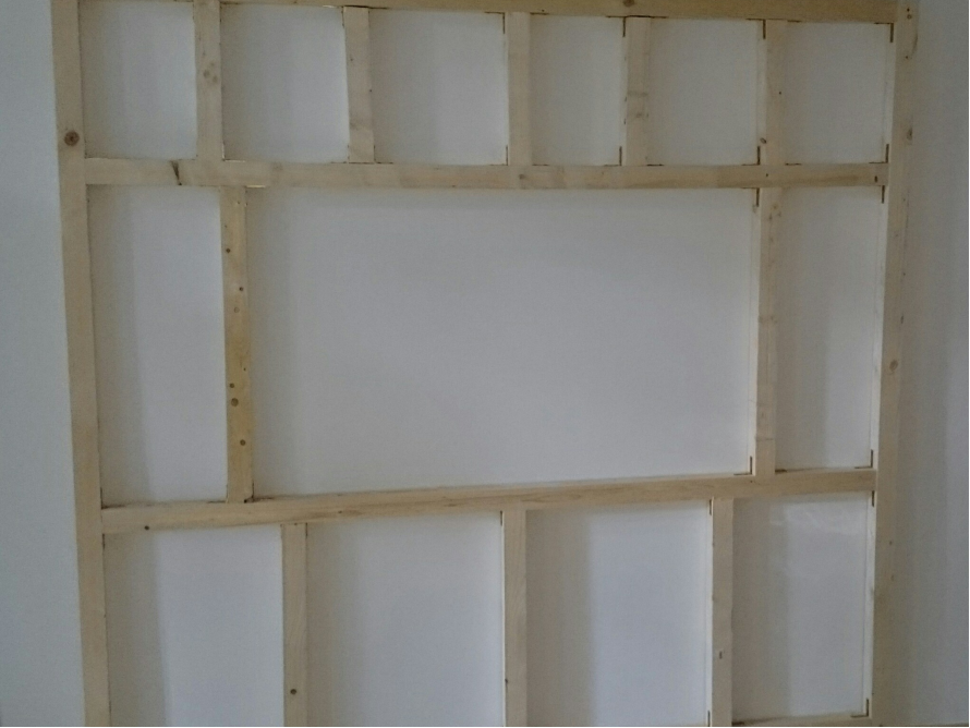 toom Kreativwerkstatt - TV Wand aus Holz (Old Style)