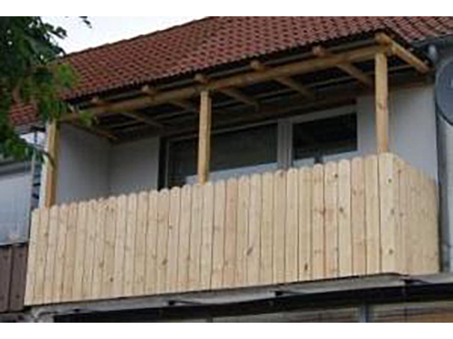 balkon selbst bauen holz terrassen berdachung selber. Black Bedroom Furniture Sets. Home Design Ideas